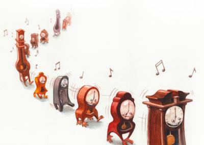 Les Horloges –05