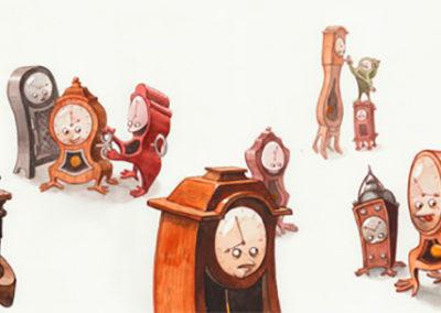 Les Horloges –01